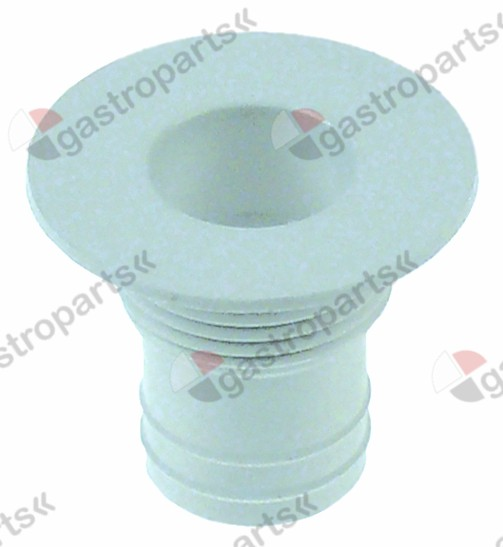 695.620, drain fitting straight connection 24mm