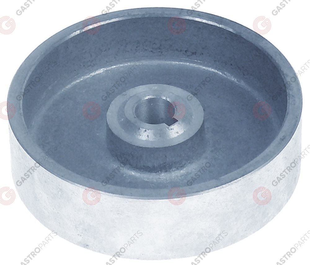 696.047, pulley disc o 116 mm disc width 33 mm