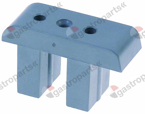 696.100, bracket for microswitch H 39 mm L 65 mm W 26 mm T