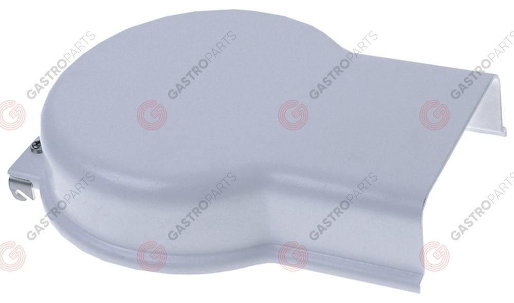 696.193, Protection cap ø 188mm H 51mm mounting distance 95mm plastic white Athos