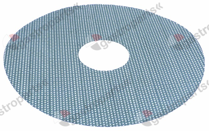 696.346, grating disc o 390 mm for potato peeler device