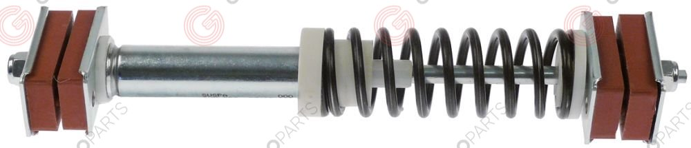 696.476, shock absorber for washing machine L360mm M10x1,5