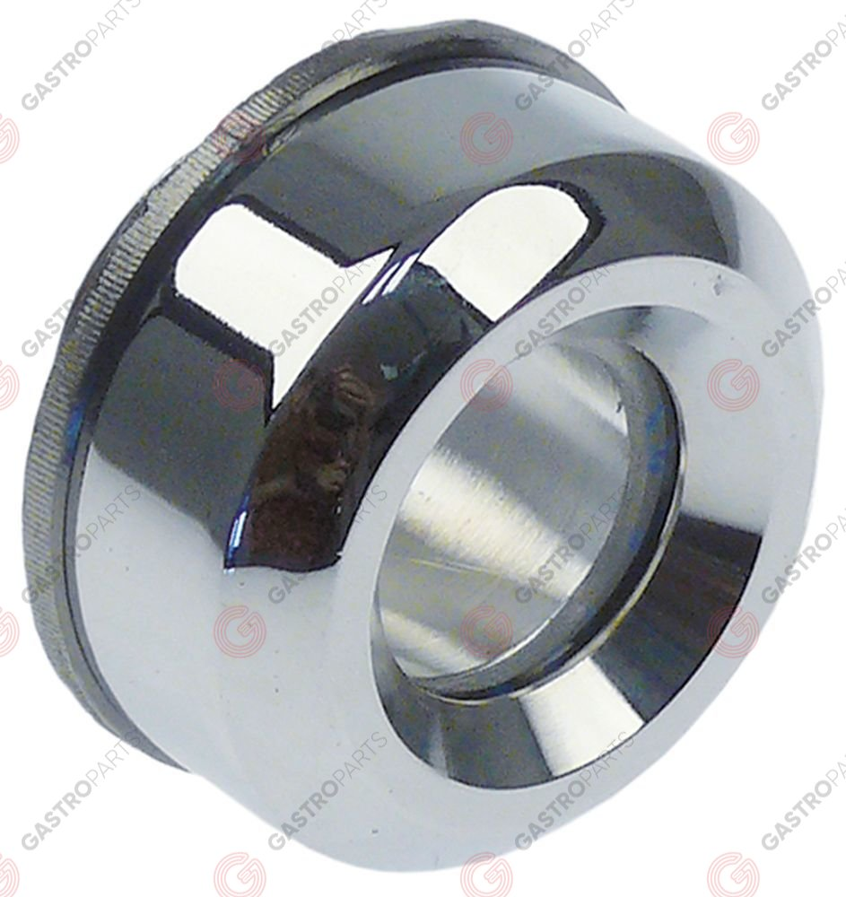 696.486, level glass o 50mm chrome-plated for oven