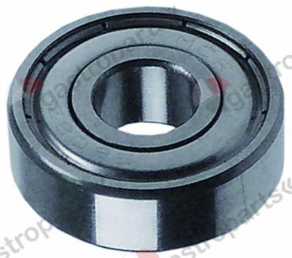 697.413, deep-groove ball bearing type DIN 608 2Z