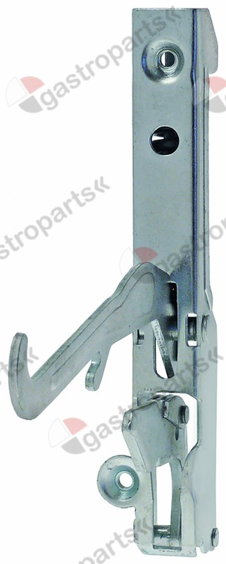 700.013, oven hinge lever length 126mm mounting distance 118mm spring thickness 3,7mm