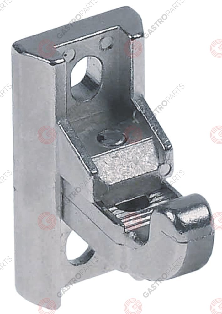 700.082, door catch L 38mm W 18mm mounting distance 26mm