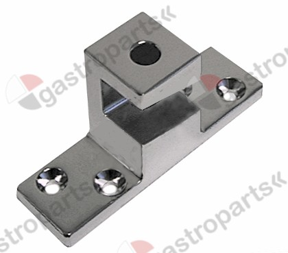 700.091, door catch H 56mm mounting pos. right L 110mm W 33mm heated units mounting distance 52/84mm
