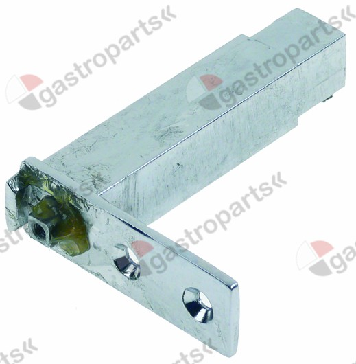 700.653, spring hinge L 71mm mounting distance 25mm 22x22m