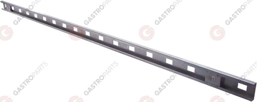700.686, rack L 1360mm aperture 14x23mm hole distance 75mm