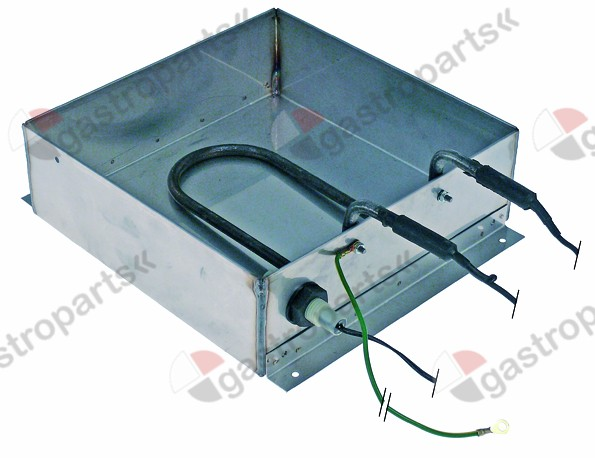 750.003, condensing tray heated L 240mm W 240mm H 75mm 230