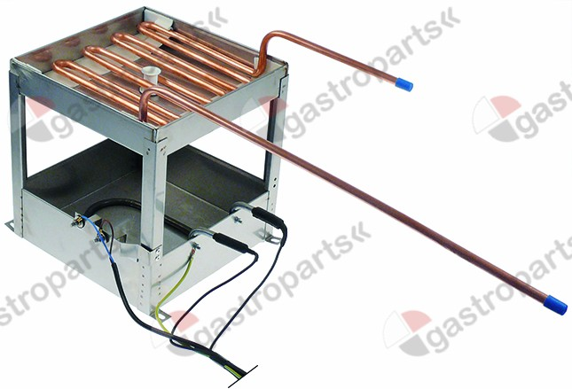 750.005, condensing tray heated L 240mm W 240mm H 250mm
