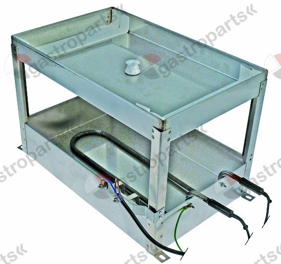750.006, condensing tray heated L 380mm W 240mm H 250mm