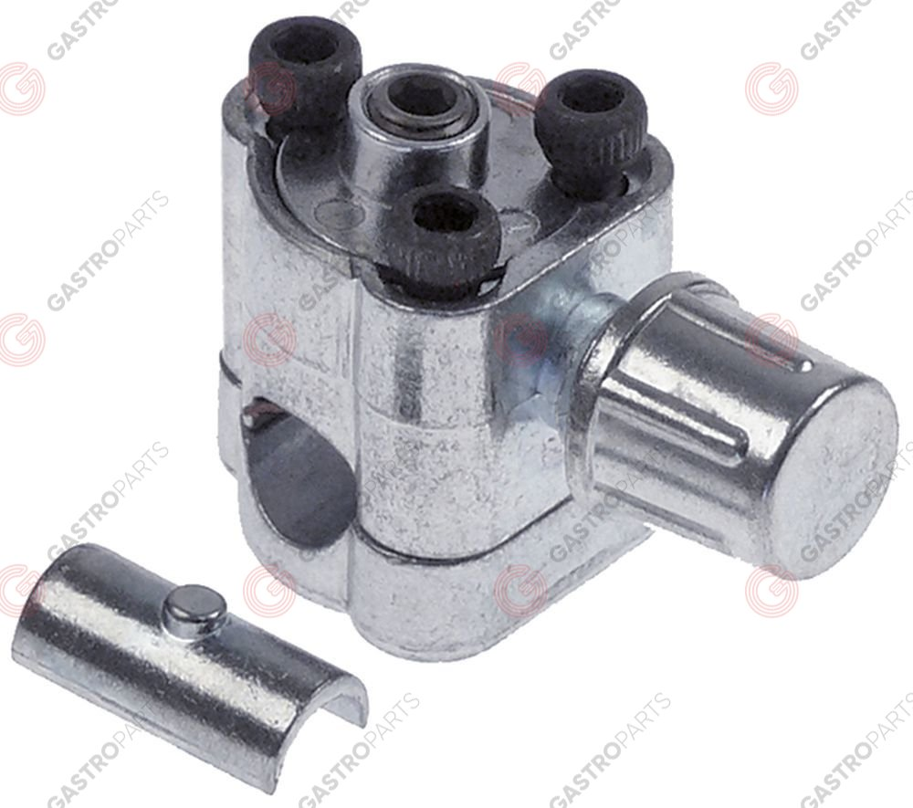 750.548, Line piercing valve type BPV 31 pipe ø 6,3-7,9-9,5mm connection 1/4