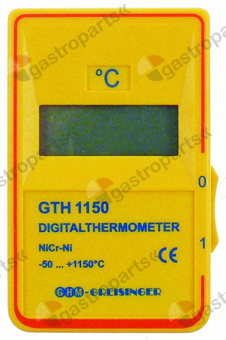 800.190, temperature meter GTH 1150 no probe measurement unit °C -50 up to 1150°C probe K