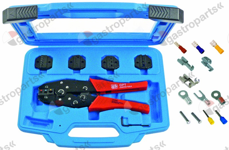 800.201, crimp tool kit Standard 6-piece