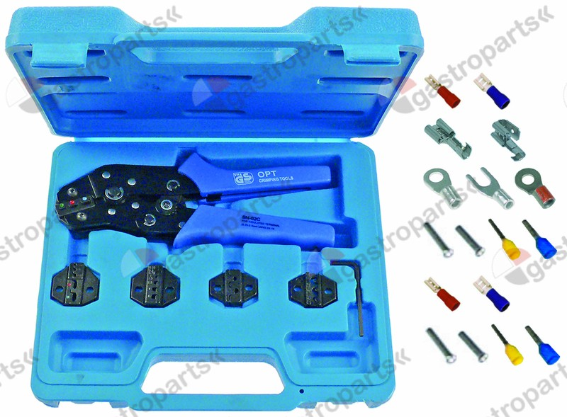 800.202, crimp tool kit Profi 5-piece