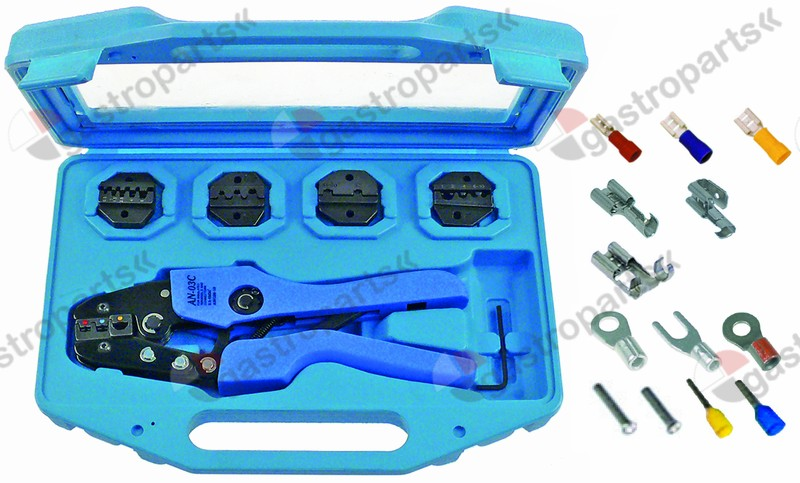 800.203, crimp tool kit Ergonomic 5-piece