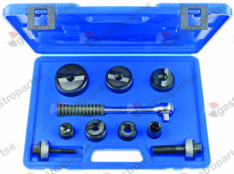 801.325, hole cutter set for steel 10-piece