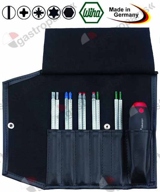 801.541, screwdriver set blade length adjustable 11-piece