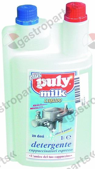 802.111, detergents for milk foamers bottle PULY MILK Plus approval NSF 1000ml