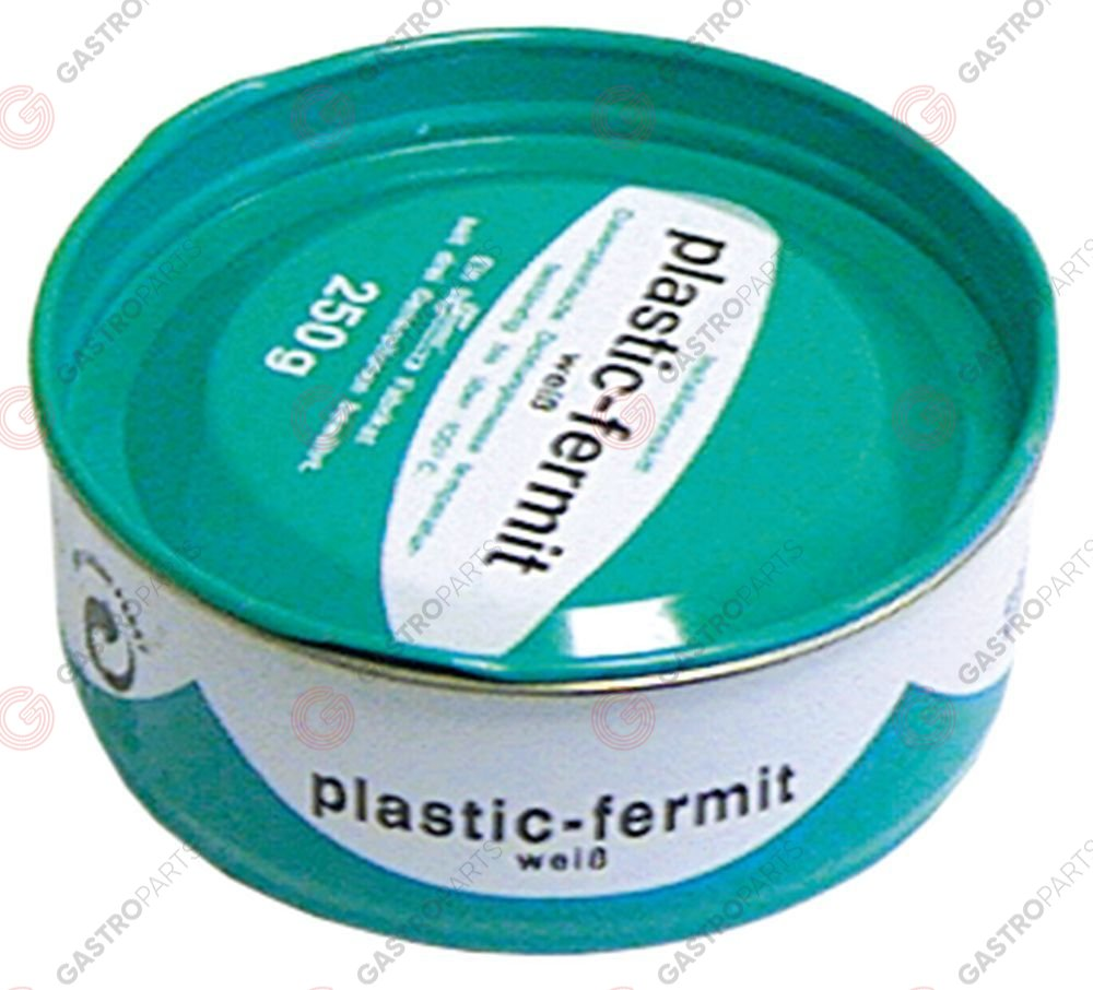 890.083, sealing compound FERMIT Plastik-Fermit temperature-resistant, elastic 250g can