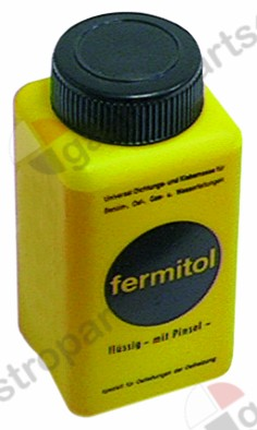 890.084, synthetic resin sealant Fermitol liquid 125g bottle