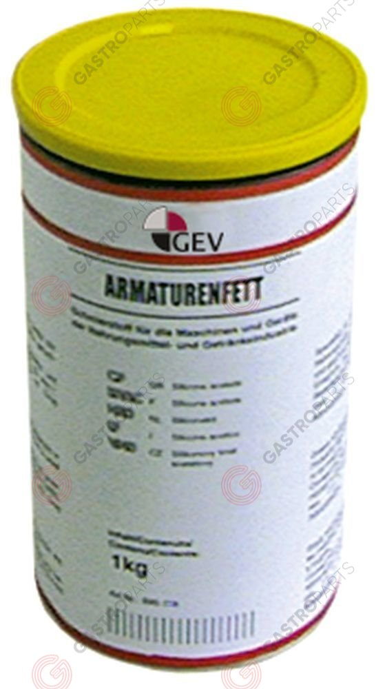 890.118, fitting grease FERMIT GLISSA can 1000g -20 up to +140°C
