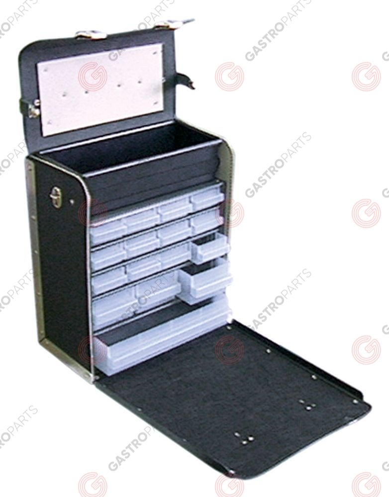 890.179, No longer available / service case type SC16-123with drawer magazine/plastic tray W 325mm D 185mm