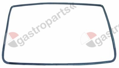 900.257, oven gasket W 550mm L 290mm external size