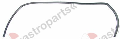 900.401, door seal W 600mm H 300mm with mounting clip