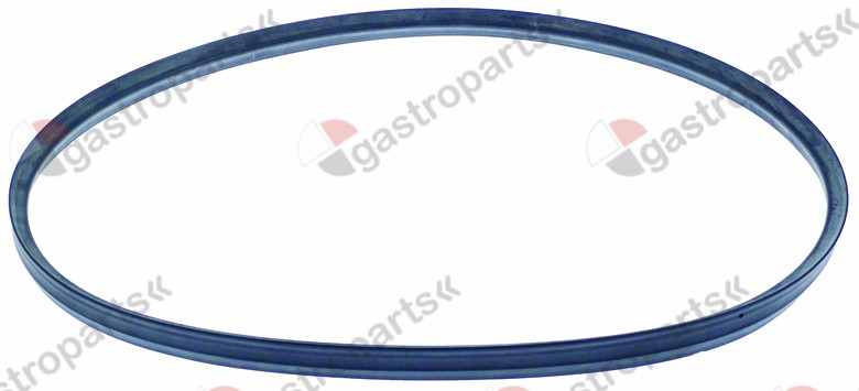 900.498, oven gasket profile 2515 perimeter 1610mm Qty 1