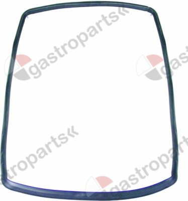 900.607, oven gasket W 320mm L 430mm external size