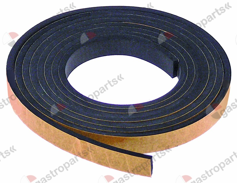 900.867, foam rubber gasket W 10mm thickness 3mm
