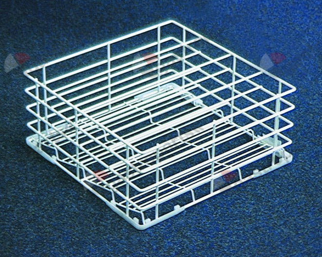 970.065, glass basket L 400mm W 400mm H 170mm number of rows 4 rows spacing 90mm