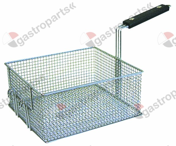 970.142, Replaced by 970330 / fryer basket L1 255mm W1 230mm H1 120mmchrome-plated steel