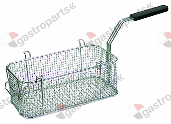 970.152, fryer basket L1 310mm W1 160mm H1 115mm chrome-plated steel