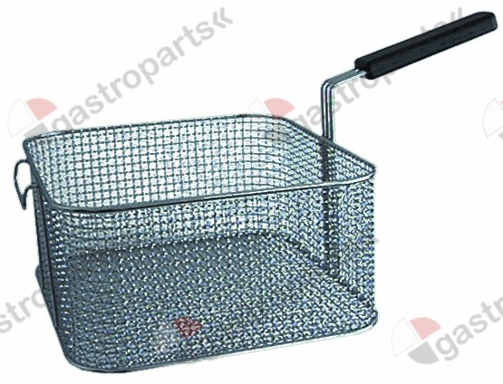 970.164, fryer basket L1 245mm W1 275mm H1 120mm