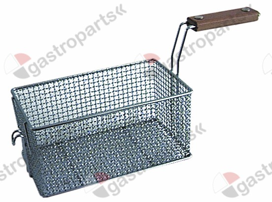 970.165, fryer basket L1 230mm W1 130mm H1 110mm