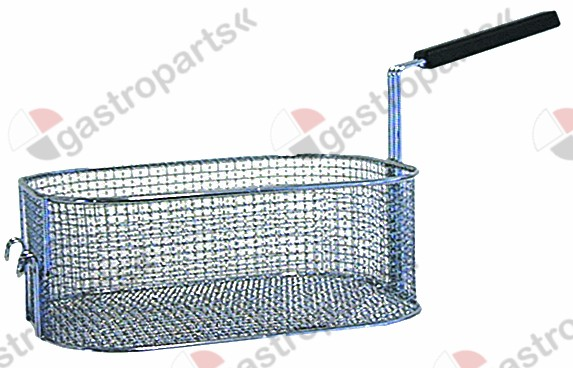 970.195, Replaced by 970679 / fryer basket L1 300mm W1 220mm H1 120mm