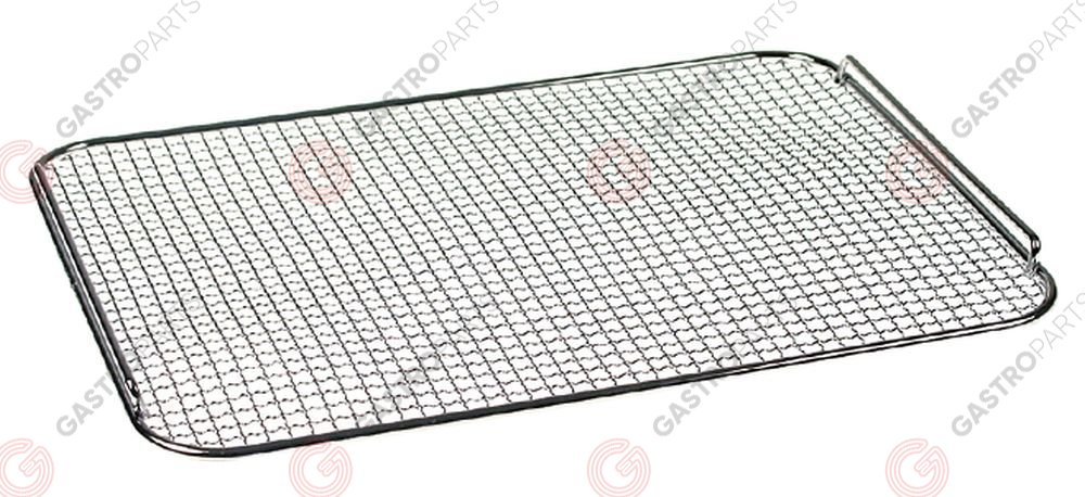 970.228, crumb screen L 336mm W 250mm suitable for fryer