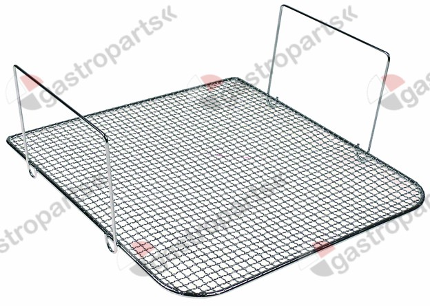 970.605, crumb screen L 310mm W 295mm suitable for fryer