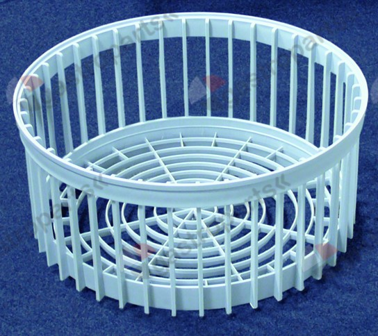970.699, mix basket ED ø 380mm H 170mm seat ø 325mm plastic