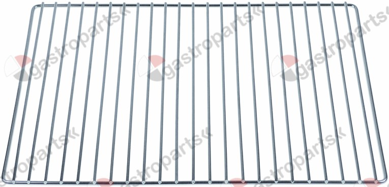 970.747, shelf W 350mm L 245mm H 7mm for toaster wire gauge frame 4mm lengthwise wires gauge 3mm