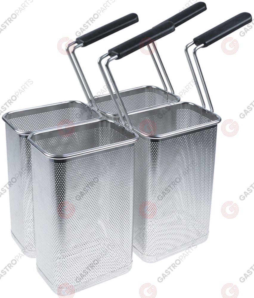 970.748, Replaced by 970788 / pasta basket set 4-piece H1 170mm W1 115mmL1 265mm H3 430mm stainless steel