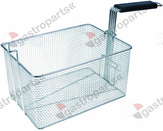 970.751, fryer basket W1 215mm L1 300mm H1 160mm H2 250mm