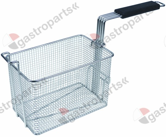 970.752, fryer basket W1 150mm L1 250mm H1 160mm H2 250mm