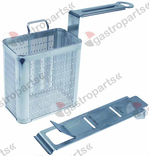 970.757, pasta basket H1 155mm W1 105mm L1 155mm size 1/6 right