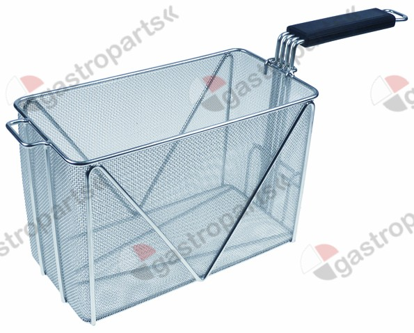 970.760, pasta basket W1 150mm L1 300mm H1 195mm stainless steel