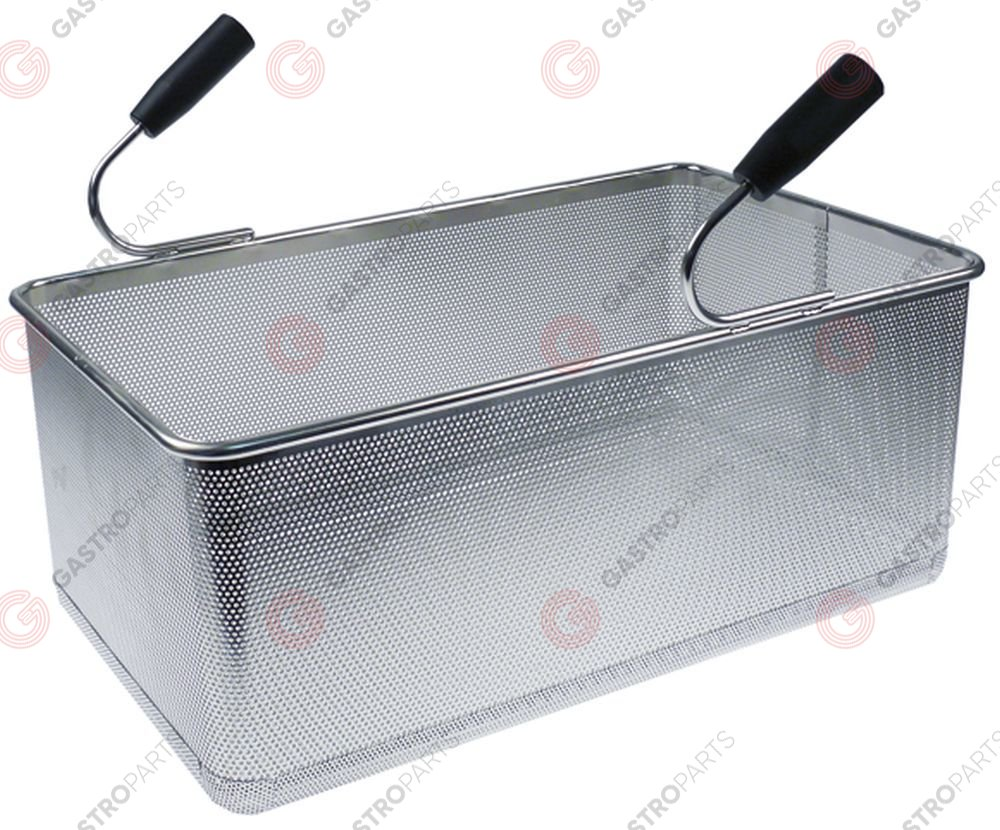 970.774, pasta basket H1 200mm W1 290mm L1 490mm size GN 1/1 H2 340mm stainless steel