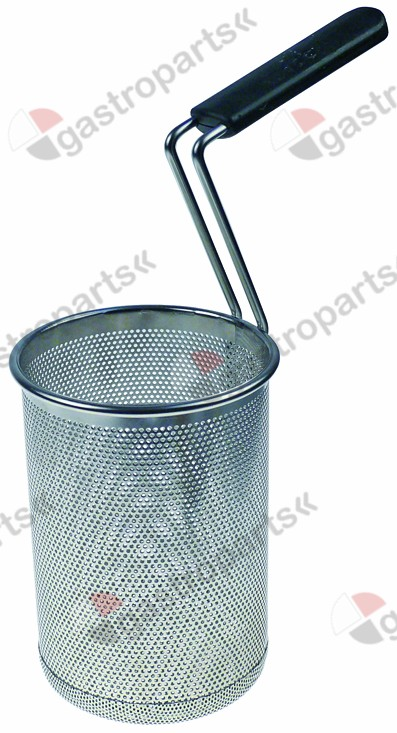 970.776, pasta basket H1 210mm ø 145mm H2 320mm H3 370mm stainless steel